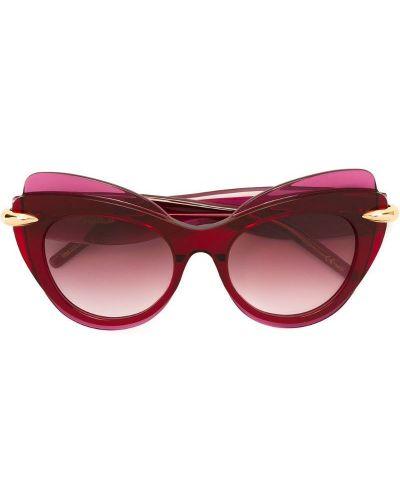 Солнцезащитные очки кошачий глаз Pomellato