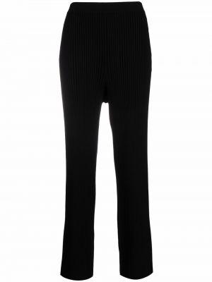 Spodnie z wysokim stanem - czarne Filippa K