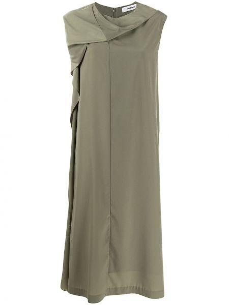 Платье прямое зеленый Chalayan