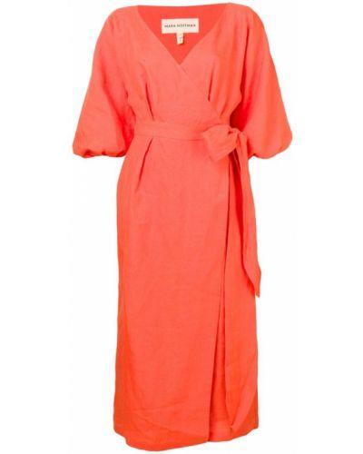 Платье с запахом с V-образным вырезом Mara Hoffman