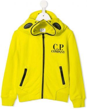 Толстовка желтый Cp Company Kids
