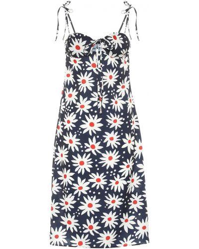 Платье в полоску с цветочным принтом Solid & Striped