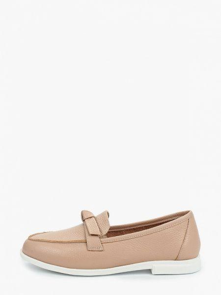 Кожаные туфли розовый Pierre Cardin