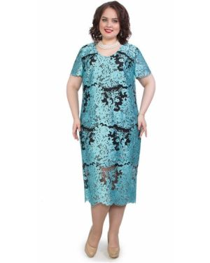 Вечернее платье летнее с V-образным вырезом Wisell