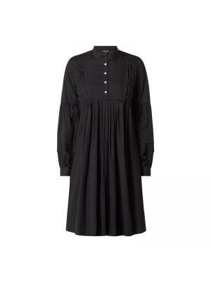 Czarna sukienka rozkloszowana bawełniana Risy & Jerfs