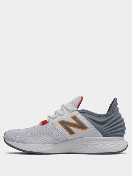 Белые кроссовки беговые для бега New Balance