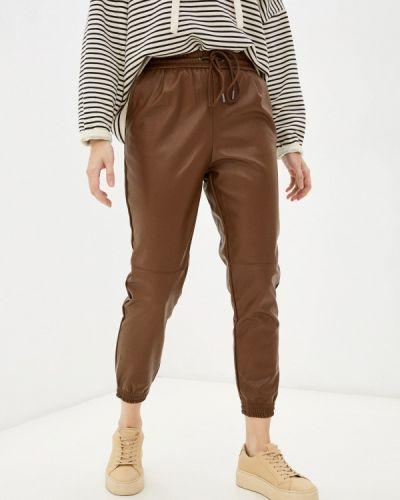 Коричневые брюки осенние Softy