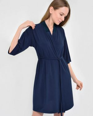 Домашний халат - синий N.el.