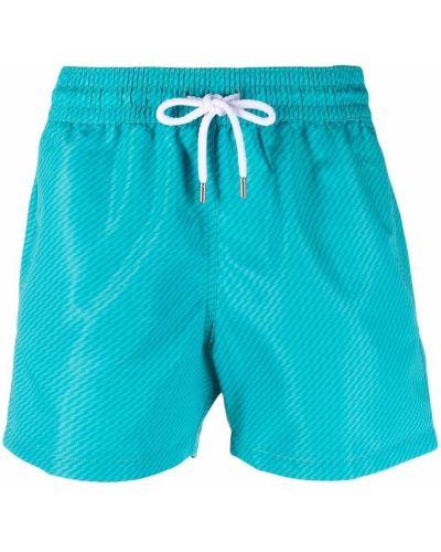Niebieskie kąpielówki bawełniane Frescobol Carioca