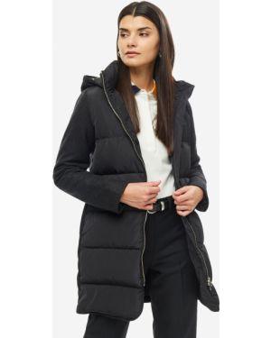 Куртка с капюшоном черная Lacoste