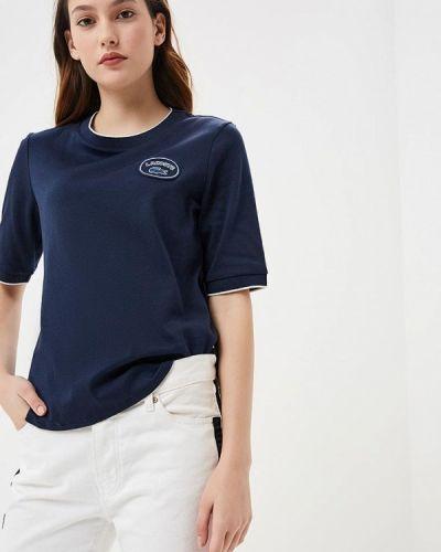 Синяя футболка 2019 Lacoste