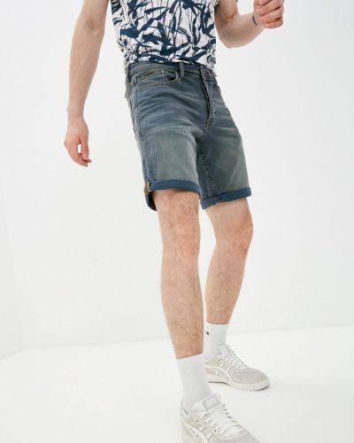 Синие джинсовые шорты Blend