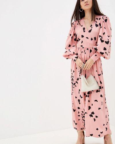 Розовое платье Selected Femme