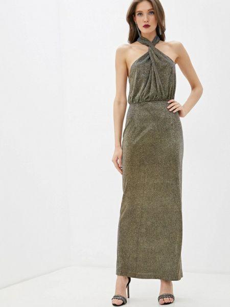 Вечернее платье осеннее золотой Fashion.love.story