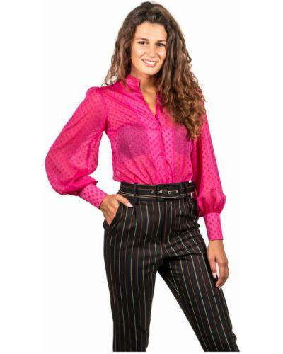 Różowa koszula Hanita