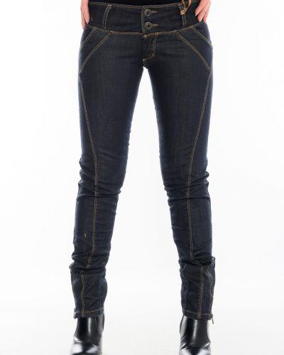 Джинсовые брюки - синие Omat