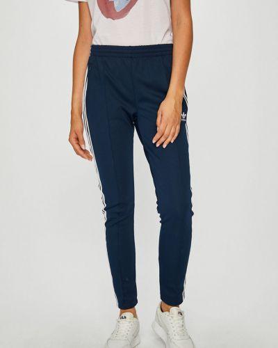 Спортивные брюки с лампасами на резинке Adidas Originals