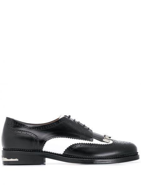 Черные туфли на шнуровке Toga Virilis
