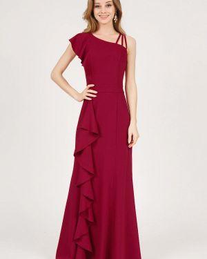 Вечернее платье весеннее красный Marichuell
