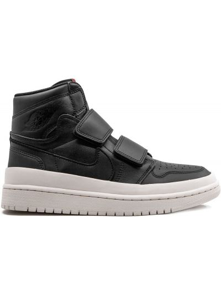 Высокие кроссовки черные с логотипом Jordan