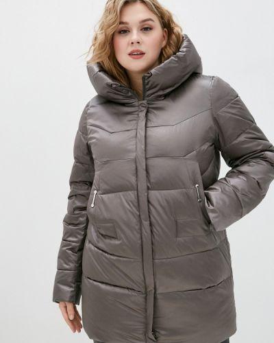Утепленная серая куртка Purelife