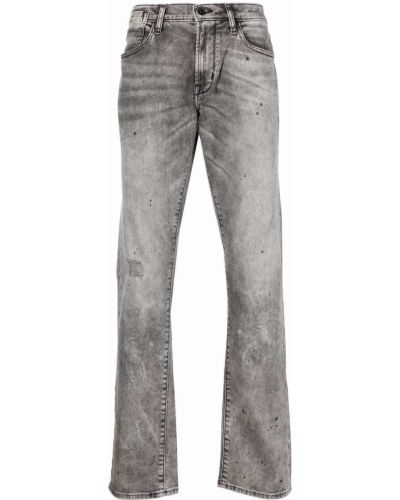 Klasyczne czarne jeansy bawełniane John Varvatos