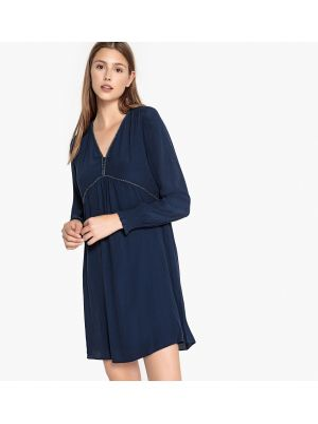 Платье макси длинное - синее Sud Express