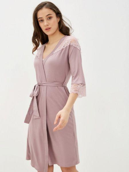 Розовый домашний халат Belarusachka