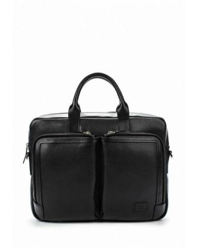 Кожаная сумка черный Bond Non