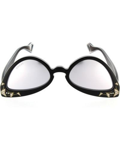 Czarne okulary Gucci