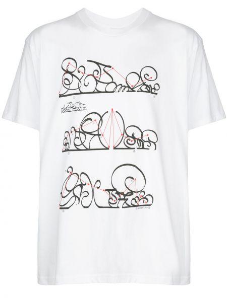 Koszula krótkie z krótkim rękawem biznes z nadrukiem Supreme