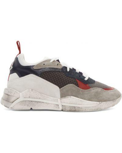 Белые кроссовки сетчатые на каблуке с сеткой Moncler