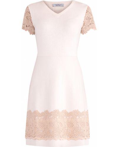 Платье миди с V-образным вырезом теплое D.exterior