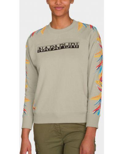 Серая свитер Napapijri
