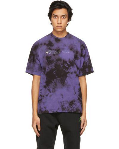 Czarny t-shirt krótki rękaw Psychworld