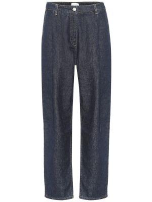 Джинсовые прямые джинсы - синие Magda Butrym