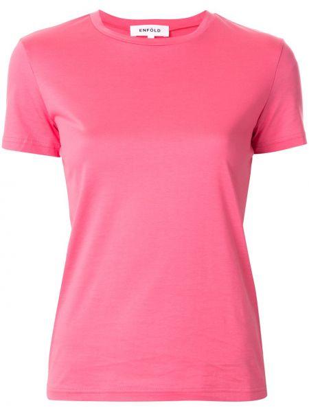 Koszula z krótkim rękawem prosto różowy Enfold