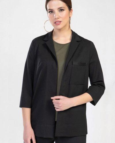 Черный весенний костюм Prima Linea