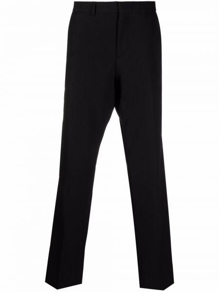 Шерстяные брюки - черные Burberry