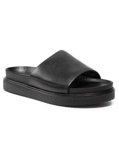 Czarne sandały casual Vagabond