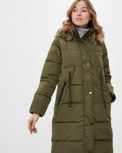 Зеленая теплая куртка B.young