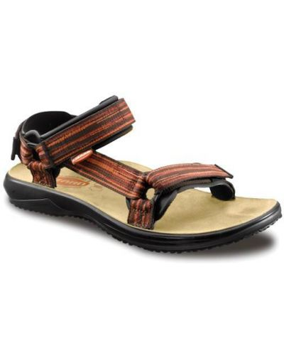 Спортивные сандалии на липучках оранжевый Lizard