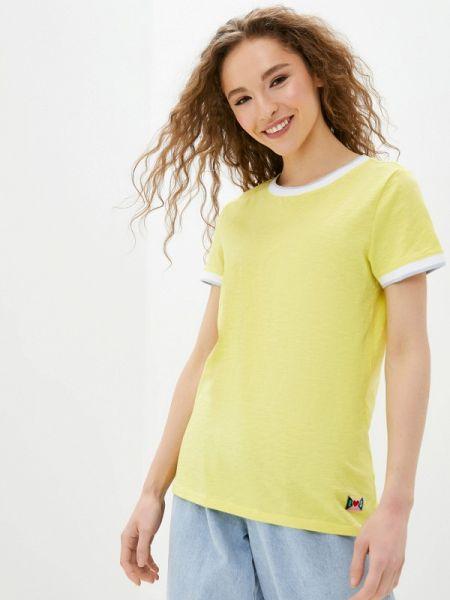 Поло футбольный желтый Q/s Designed By