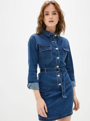 Джинсовое платье - синее Softy