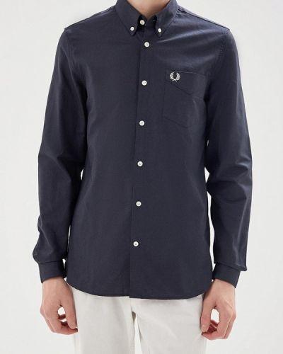 Черная рубашка Fred Perry