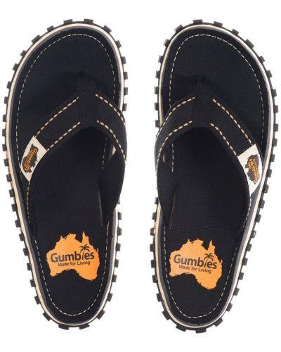 Черные сандалии Gumbies