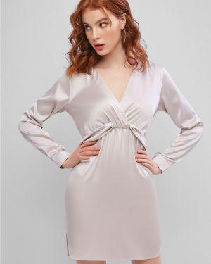 Платье мини макси сатиновое Zaful