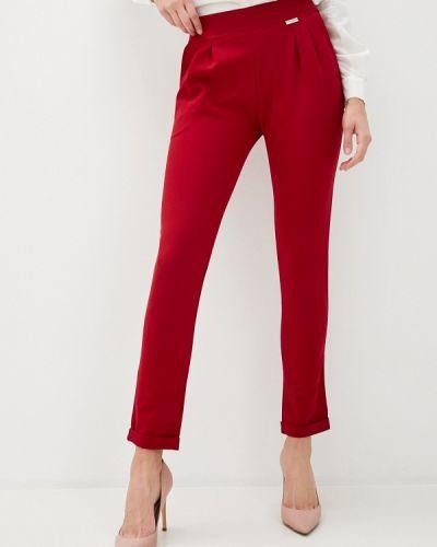 Повседневные красные брюки Trussardi Collection
