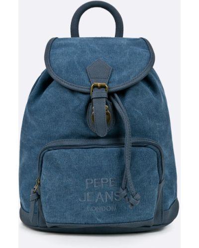 Рюкзак с подкладкой синий Pepe Jeans