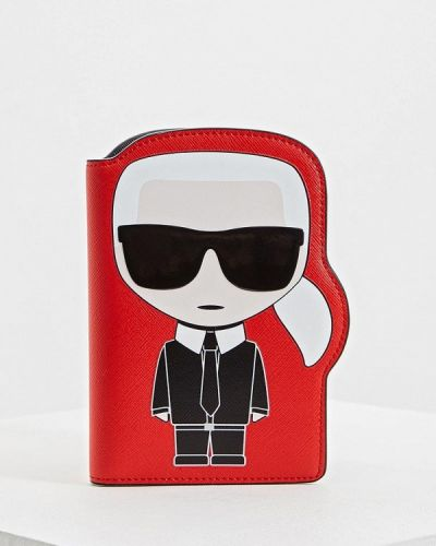 Визитница красная Karl Lagerfeld